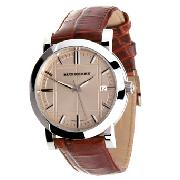 Burberry Heritage Gents with Beige Dial