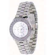 Christian Dior Christal Ladies with White Mother of Pearl Dial