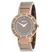 DKNY Ladies Watch with Brown Dial