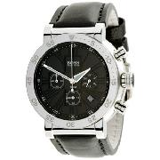 Hugo Boss Gents with Black Chronograph Multilayer Dial