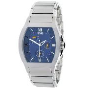 Hugo Boss Gents with Blue Chronograph Dial