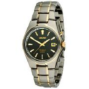 Seiko Gents Full Titanium Kinetic Watch
